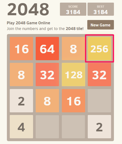 2048 Tips and Tricks